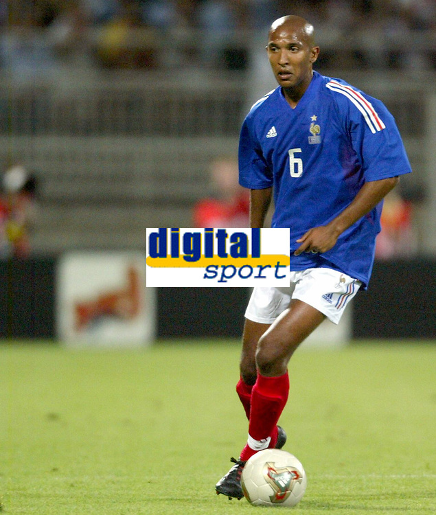 FOOTBALL - CONFEDERATIONS CUP 2003 - GROUP A - 030618 - FRANKRIKE v COLOMBIA - OLIVIER DACOURT (FRA) - PHOTO GUY JEFFROY / DIGITALSPORT
