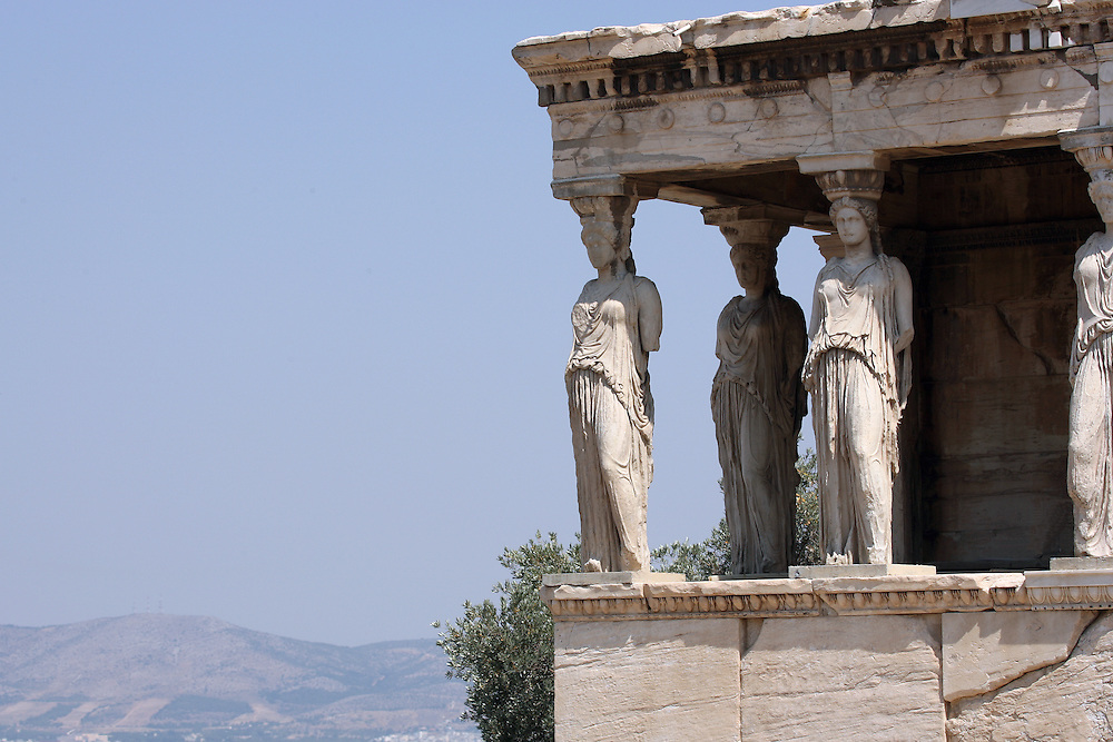 THE ERECHTHEION, ATHENS GREECE