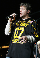 "Richie McDonald, Country sensation, ""Lonestar"", performs a special concert for the men and women of the US Army along with the athletes and their families  following the US Army All American Bowl game, 6 Jan 07, Alamodome, San Antonio, TX"