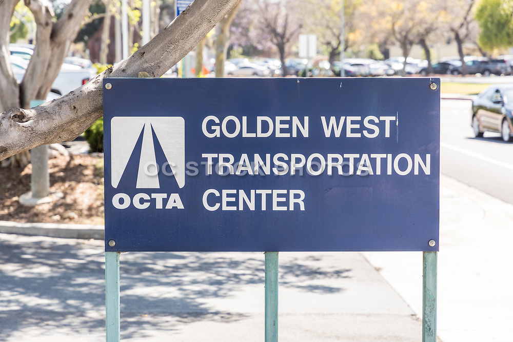 Golden West Transportation Center OCTA