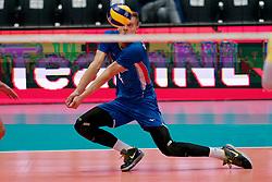 13-09-2019 NED: EC Volleyball 2019 Czech Republic - Ukraine, Rotterdam<br /> First round group D / Cze's Donovan Dzavoronok #4