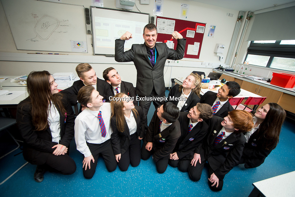 """EXCLUSIVE<br /> Academy teacher also a wrestler known as the Essex Bad Boy<br /> <br /> School teacher Paul Tyrrell isn't your classic Essex Bad Boy.<br /> But, once the bell goes at the end of the school day, the award-winning science tutor is certainly ready for a fight.<br /> By day, the father-of-three is taken extremely seriously by his teenage audience in the classroom at Maltings Academy, in Essex, winning national recognition for his work. By night, he transforms into a secret alternative persona…Essex Bad Boy, the wrestling star.<br /> The 39-year-old has been body-slamming his opponents around the world for the last 25 years, having his first professional wrestling match at the age of 14 – the youngest in the UK at the time.<br /> He now splits his time between school and the wrestling ring, using his teacher training to coach the next generation of performers. According to the star, it works both ways and his wrestling experience has also helped him to take charge in the classroom.<br /> """"You might not think it, but there are many similarities between teaching and wrestling. Wrestling is obviously about entertaining the crowd, with someone playing the good guy and someone playing the bad guy. We use psychology to tell the story and to get the crowd involved and on side. Teaching is the same, with us using psychology to get the kids' attention, playing the bad guy when they've not done their homework and the good guy to earn their respect. <br /> """"I don't see myself as an educator; I see myself as an edu-tainer. I use entertainment to draw the kids in in the classroom. I tell funny stories, I constantly move around, we play games and act out role play; there's no sitting around in my classes. There are a lot of crossovers which have helped me improve as a teacher and as a wrestler.""""<br /> Paul's wrestling career took off when he was just 16 and travelled to America to train with Exotic Adrian Street. On his way to the top, he defeated childhood hero Jake t"""