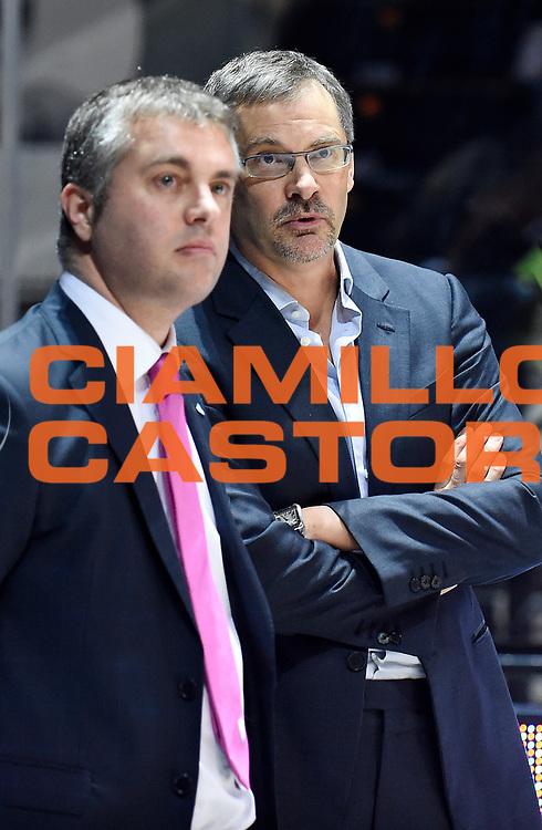 DESCRIZIONE : Casalecchio di Reno (BO) Campionato Lega A 2015-16 Obiettivo Lavoro Virtus Bologna Acqua Vitasnella Cantu'<br /> GIOCATORE : Bazarevich<br /> CATEGORIA : Allenatore Coach Fair Play<br /> SQUADRA : Acqua Vitasnella Cantu'<br /> EVENTO : Campionato Lega A 2015-16<br /> GARA : Obiettivo Lavoro Virtus Bologna Acqua Vitasnella Cantu'<br /> DATA : 23/12/2015<br /> SPORT : Pallacanestro <br /> AUTORE : Agenzia Ciamillo-Castoria/A.Giberti<br /> Galleria : Campionato Lega A 2015-16  <br /> Fotonotizia : Casalecchio di Reno (BO) Campionato Lega A 2015-16 Obiettivo Lavoro Virtus Bologna Acqua Vitasnella Cantu'<br /> Predefinita :