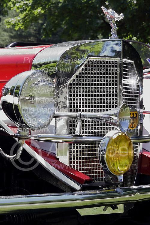 2018 Champagne British Car Festival held on Clover Lawn at David Davis Mansion in Bloomington IL<br /> <br /> 1929 Mercedes