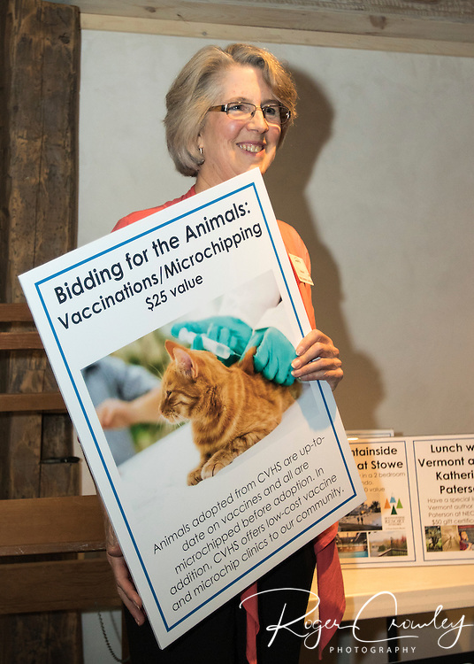 WATERBURY - Central Vermont Humane Society held Fur Fest 2016.  Activities included a silent auction and proceeds went to benefit animals at CVHS. Retiring Executive Director Mary Taylor was honored.
