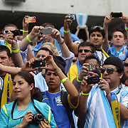 Argentinian fans take pictures of Lionel Messi before the Brazil V Argentina International Football Friendly match at MetLife Stadium, East Rutherford, New Jersey, USA. 9th June 2012. Photo Tim Clayton