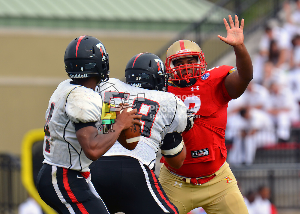NCAA Football: VMI dismantles Davidson, 52-24