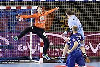 Kevin Mesnard - 05.03.2015 - Montpellier / Cesson Rennes - 17eme journee de Division 1<br />Photo : Andre Delon / Icon Sport