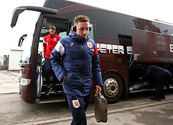 Josh Brownhill of Bristol City arrives at Barnsley - Mandatory by-line: Robbie Stephenson/JMP - 30/03/2018 - FOOTBALL - Oakwell Stadium - Barnsley, England - Barnsley v Bristol City - Sky Bet Championship