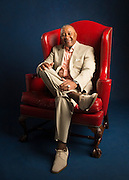 COOPERSTOWN, NY - JULY 25: Ozzie Smith poses for a portrait on July 25, 2015 in Cooperstown, New York. (Photo by Jean Fruth)