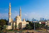 Emirats Arabes Unis, Dubai, quartier Jumeirah, mosquee Jumeirah // United Arab Emirates, Dubai, Jumeirah neighbourhood, Jumeirah mosque