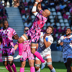 Sergio Parisse of Paris during Top 14 match between Stade Francais and Union Bordeaux Begles on September 1, 2018 in Paris, France. (Photo by Aude Alcover/Icon Sport)