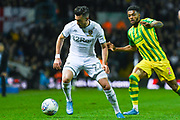 Leeds United midfielder Jack Harrison (22) during the EFL Sky Bet Championship match between Leeds United and West Bromwich Albion at Elland Road, Leeds, England on 1 October 2019.