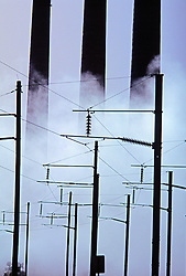 Power Plant, Transmission Lines