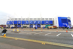 A general view of the King Power Stadium  - Mandatory by-line: Matt McNulty/JMP - 24/04/2016 - FOOTBALL - King Power Stadium - Leicester, England - Leicester City v Swansea City - Barclays Premier League