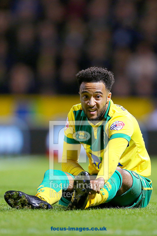 Nathan Redmond of Norwich City during the Sky Bet Championship match against Bolton Wanderers at Carrow Road, Norwich<br /> Picture by Richard Calver/Focus Images Ltd +447792 981244<br /> 31/10/2014