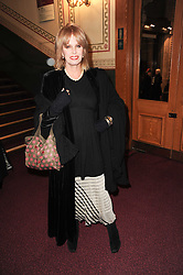 JOANNA LUMLEY at the gala opening night of Cirque du Soleil's Varekai at the Royal Albert Hall, London on 5th January 2010.
