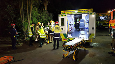 Auckland-Two in serious condition after fall down cliff, Devonport