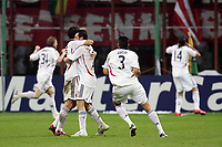 Fotball<br /> UEFA Champiosn League<br /> Inter Milan v Bayern München<br /> 27.09.2006<br /> Foto: Inside/Digitalsport<br /> NORWAY ONLY<br /> <br /> Bayern players celebrate after Claudio PIZARRO scored first goal for Bayern