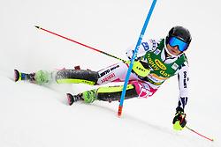 January 7, 2018 - Kranjska Gora, Gorenjska, Slovenia - Martina Dubovska of Czech Republic competes on course during the Slalom race at the 54th Golden Fox FIS World Cup in Kranjska Gora, Slovenia on January 7, 2018. (Credit Image: © Rok Rakun/Pacific Press via ZUMA Wire)