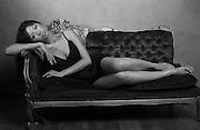 NEW YORK, NY - JULY 23:  during the photo shoot with Elizabeth Guerrero at the Pseudo Studio in New York, New York.  (Photo By M. David Leeds)..MANDATORY CREDIT:  M. David Leeds.Photographer:  M. David Leeds 917-873-0077.Model:  Elizabeth Guerrero 917-361-7779