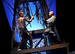 """Bag & Baggage production of """"MacBeth"""" in January 2011. (photo by Casey Campbell)"""