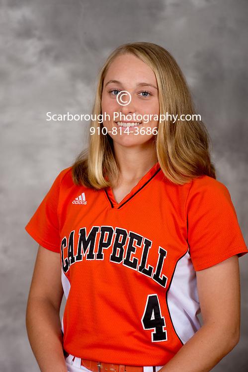 2012 Campbell University Softball portraits Campbell Fighting Camels inf Shaela Churchill (4)