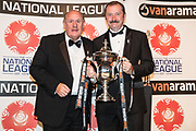 Tranmere Rovers, National League promotion final winners during the National League Gala Awards Evening at Celtic Manor Resort, Newport, South Wales on 9 June 2018. Picture by Shane Healey.