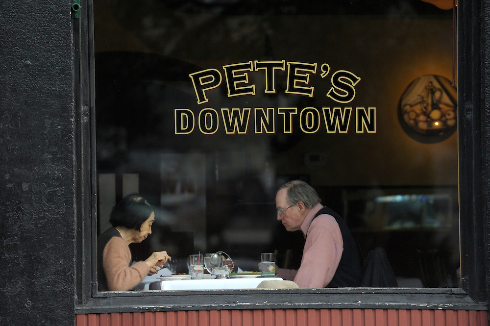 Pete's Downtown Restaurant, Water Street, Dumbo, New York, New York, USA