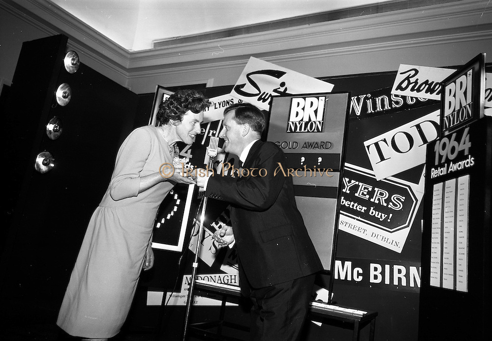 23/11/1964<br /> 11/12/1964<br /> 23 November 1964<br /> <br /> 19 Sales Girls from various parts of Ireland, at a Presentation in the Royal Hibernian Hotel <br /> <br /> Miss Mary Coleman Cassidy's, Dublin