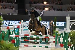 Nieberg, Lars, Leonie W<br /> Lyon - Weltcup Finale<br /> Finale II<br /> © www.sportfotos-lafrentz.de/Stefan Lafrentz