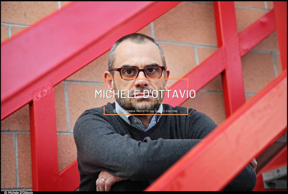 Nella foto: Davide Bracco, direttore della Film Commission Torino Piemonte....Il Cineporto Torino nato dal recupero dell'ex cotonificio Cologno di via Cagliari. La cittadella del cinema ospita gli uffici della Film Commission e gli spazi di servizio per ospitare fino a 5 produzioni in contemporanea.