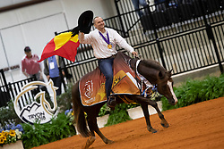 Fonck Bernard, BEL, What A Wave<br /> World Equestrian Games - Tryon 2018<br /> © Hippo Foto - Dirk Caremans<br /> 15/09/2018