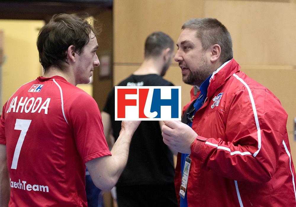 BERLIN - Indoor Hockey World Cup<br /> Czech Republic - Poland<br /> foto: TRONIČEK Petr<br /> WORLDSPORTPICS COPYRIGHT FRANK UIJLENBROEK