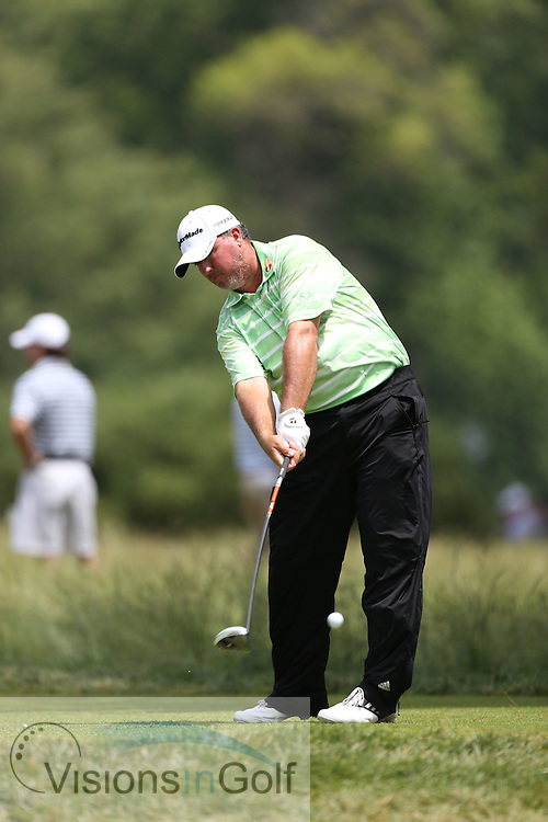 Boo Weekley<br /> on the first day at the US Open Championship, Merion East, PA. USA 2013 <br /> Picture Credit:  Mark Newcombe / visionsingolf.com
