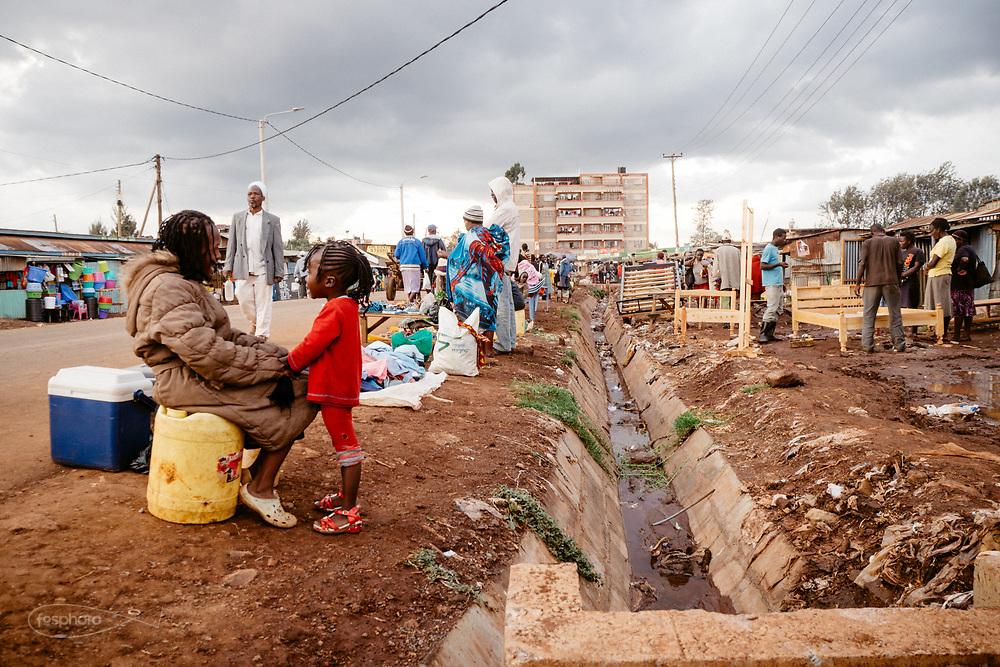 Kenia 2017: Nairobi. La vita a Kabiria Road