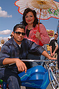 Latin Rockabilly couple. Viva Las Vegas weekend. 2002