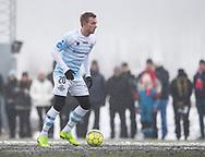 FODBOLD: Jonas Henriksen (FC Helsingør) under træningskampen mellem Helsingborgs IF og FC Helsingør den 26. januar 2019 på Vikvalla i Viken, Sverige Foto: Claus Birch