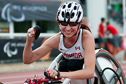 STILWELL Michelle, CAN, 200m, T52, 2013 IPC Athletics World Championships, Lyon, France