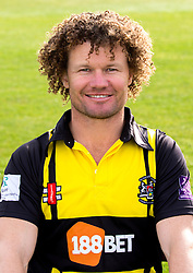 Hamish Marshall of Gloucestershire Cricket poses for a headshot in the Royal London One Day Cup kit - Mandatory by-line: Robbie Stephenson/JMP - 04/04/2016 - CRICKET - Bristol County Ground - Bristol, United Kingdom - Gloucestershire  - Gloucestershire Media Day