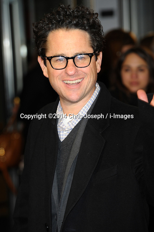 J J Abrams  attends  the UK premiere of 'A New York Winter's Tale' at The Odeon Kensington, London, United Kingdom. Thursday, 13th February 2014. Picture by Chris Joseph / i-Images