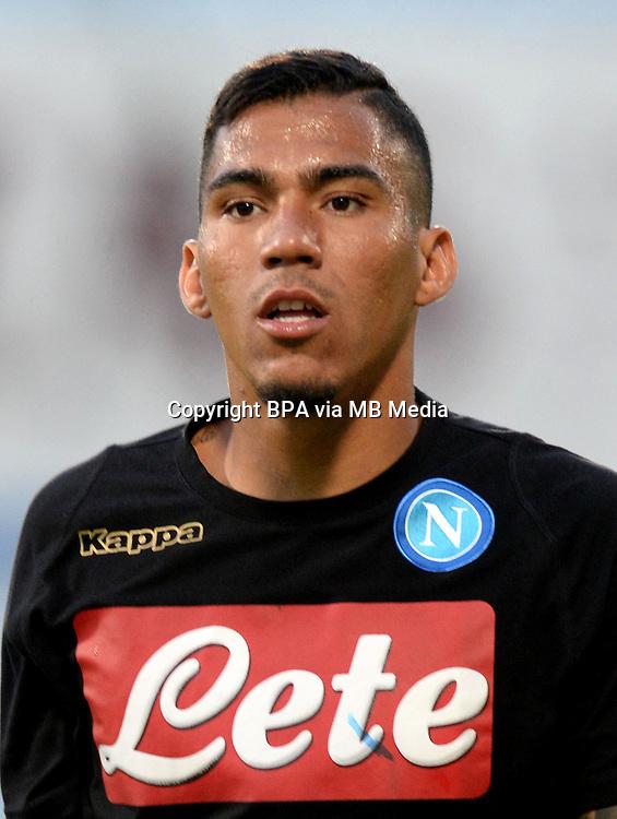 Italian League Serie A -2016-2017 / <br /> ( Ssc Napoli ) - <br /> Allan Marques Loureiro &quot; Allan &quot;