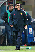 AS Roma coach Eusebio Di Francesco during the Italian championship Serie A football match between FC Internazionale and AS Roma on January 21, 2018 at Giuseppe Meazza stadium in Milan, Italy - Photo Morgese - Rossini / ProSportsImages / DPPI