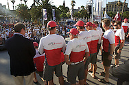 SPAIN, Barcelona, AUDI MedCup, 25th July 2010,  Camper Regatta - Conde de Godo Trophy, Prizegiving ceromony, Artemis
