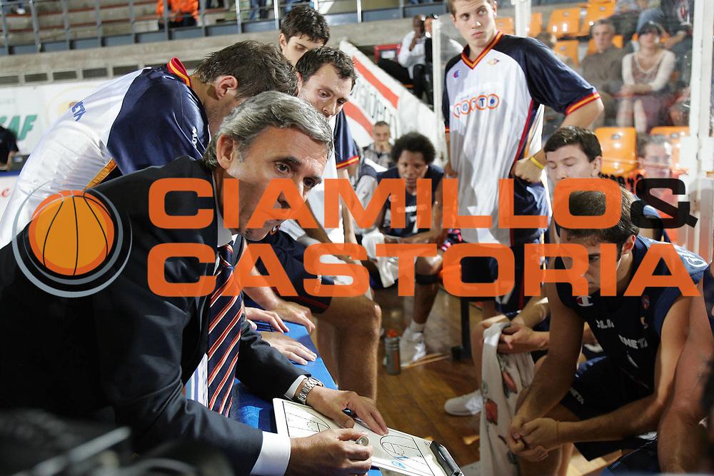 DESCRIZIONE : UDINE CAMPIONATO LEGA A1 2005-2006 <br /> GIOCATORE : TEAM ROMA TIMEOUT <br /> SQUADRA : LOTTOMATICA VIRTUS ROMA <br /> EVENTO : CAMPIONATO LEGA A1 2005-2006 <br /> GARA : SNAIDERO UDINE-LOTTOMATICA VIRTUS ROMA <br /> DATA : 15/10/2005 <br /> CATEGORIA : <br /> SPORT : Pallacanestro <br /> AUTORE : Agenzia Ciamillo-Castoria/S.Silvestri