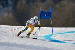 Jessica Gallagher Guide: Christian GEIGER, Women's Giant Slalom at the 2014 Sochi Winter Paralympic Games, Russia