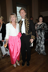 LESLIE & MARGARET MACLEOD-MILLER  at the 13th annual Russian Summer Ball held at the Banqueting House, Whitehall, London on 14th June 2008.<br />