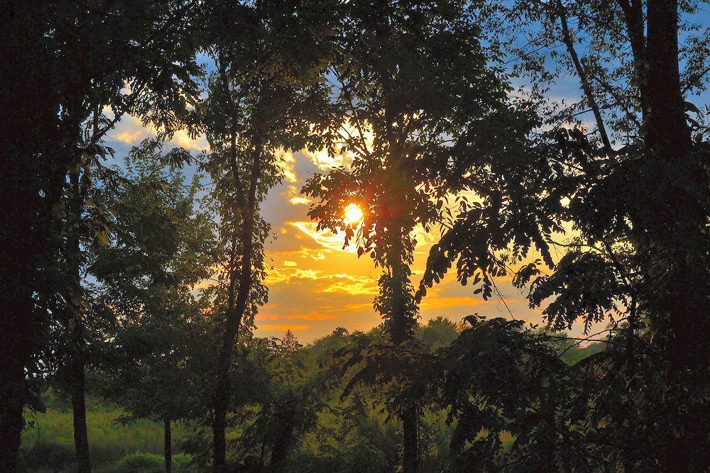 Beautiful Ohio sunset.