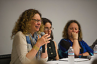 St Paul's School panel discussion during Empathy, Intimacy and Technology Symposium.  ©2016 Karen Bobotas / for St Paul's School