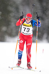 11.12.2010, Biathlonzentrum, Obertilliach, AUT, Biathlon Austriacup, Sprint Lady, im Bild Lenka Slechtova (CZE, #73). EXPA Pictures © 2010, PhotoCredit: EXPA/ J. Groder